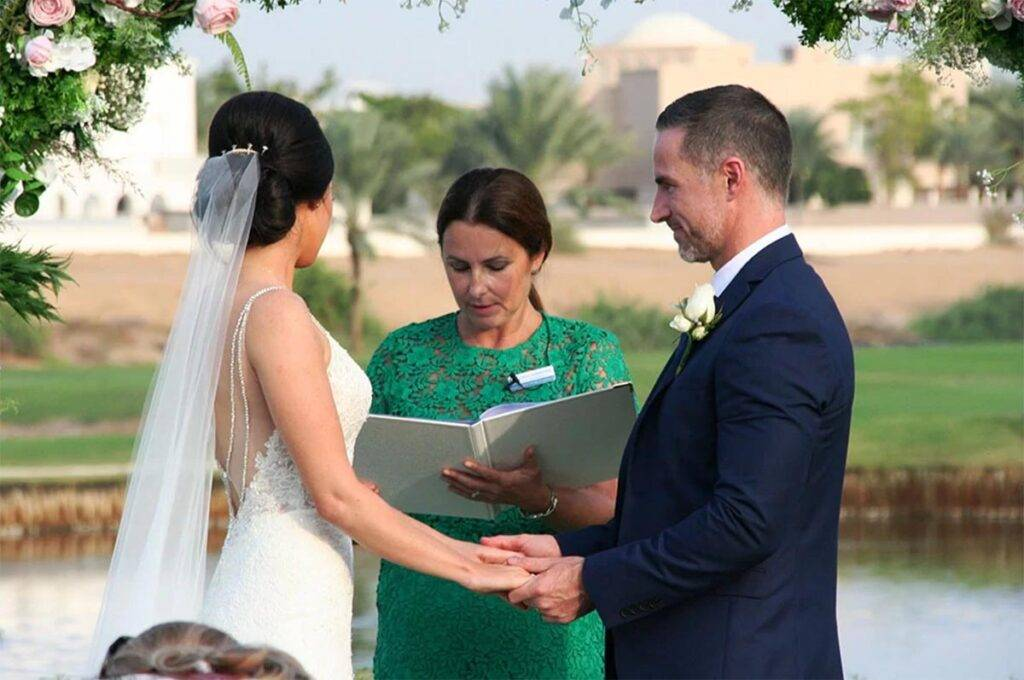 Review from Cormac and Carly, a wedding ceremony in Dubai