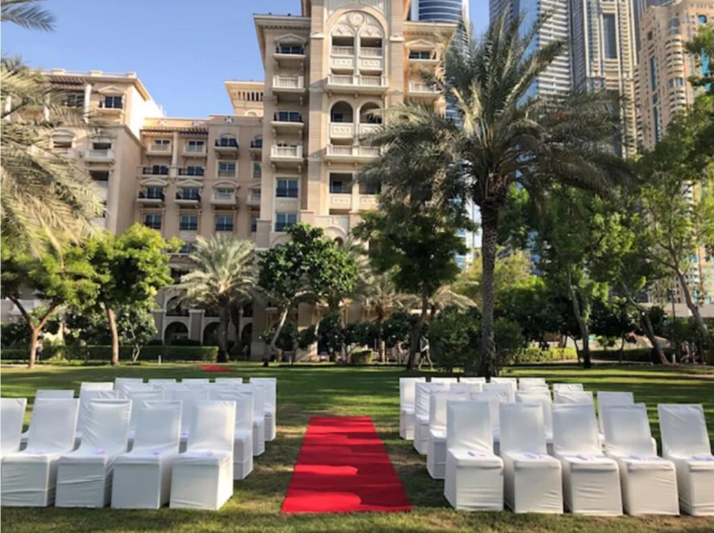 Jane and Lee The Westin Hotel, Dubai 7th November 2019