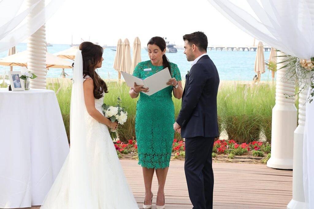 Karl and Nikki - Venue The Ritz Carlton, Dubai