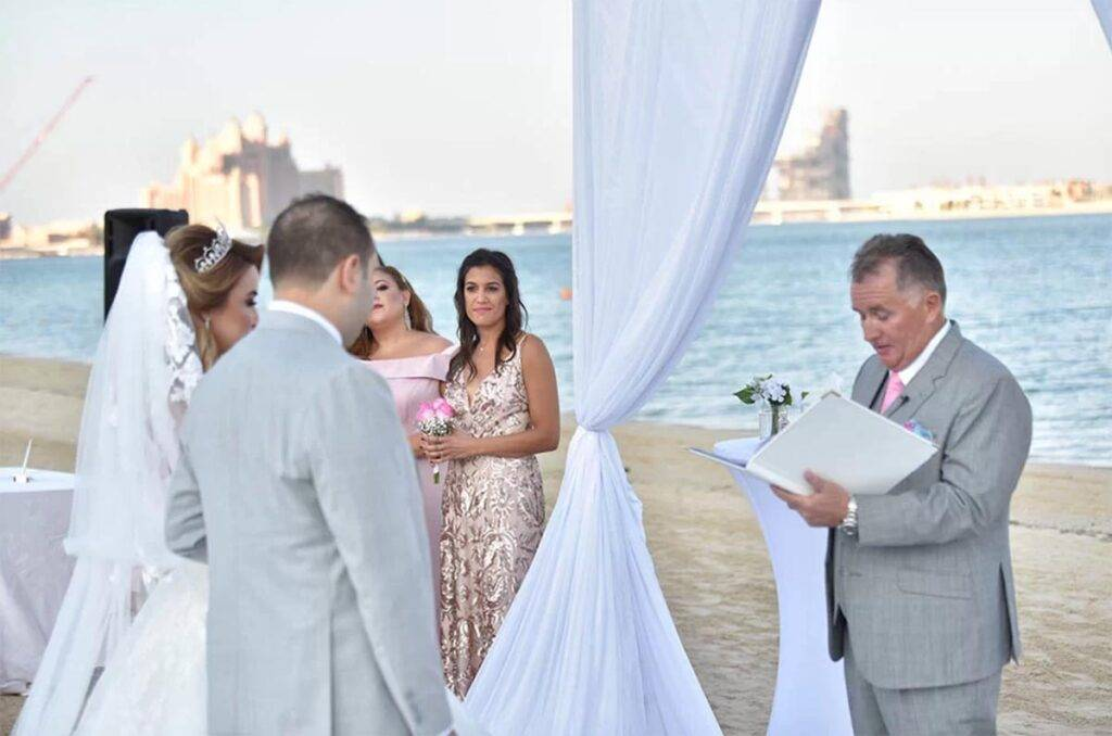 Charbel and Assel - Venue Kempinski Residences, The Palm, Dubai