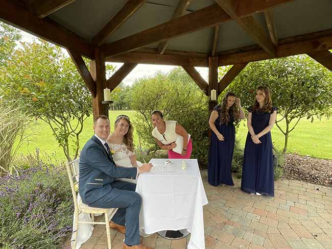 Alex and Lucy's Lincolnshire Wedding Ceremony